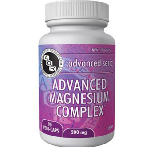 Bottle of Advanced Magnesium Complex