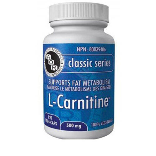 A bottle of L-Carnitine